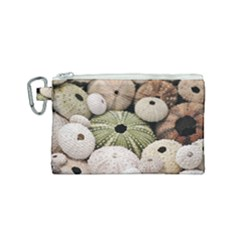 Sea Urchins Canvas Cosmetic Bag (small)