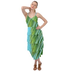 Tropical Palm Layered Bottom Dress by TheLazyPineapple