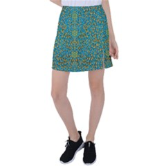 Sun In  The Soft Rainfall Nature Is Blooming Tennis Skirt