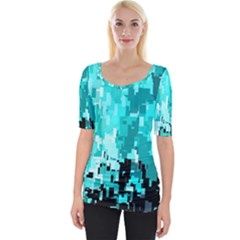 469823231 Glitch48 Wide Neckline Tee