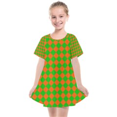 Generated Glitch20 Kids  Smock Dress by ScottFreeArt