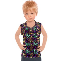 Abstract R 9 Kids  Sport Tank Top