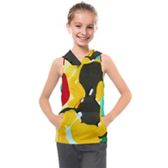 Africa As It Is 1 3 Kids  Sleeveless Hoodie by bestdesignintheworld