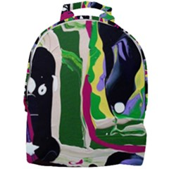 Mushroom,s Life Spin 1 3 Mini Full Print Backpack