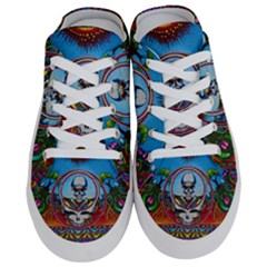 Grateful Dead Wallpapers Half Slippers by Sapixe