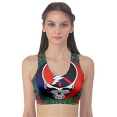 Grateful Dead Sports Bra by Sapixe