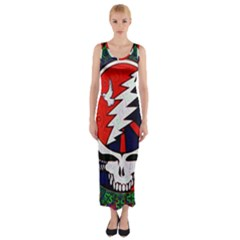 Grateful Dead Fitted Maxi Dress