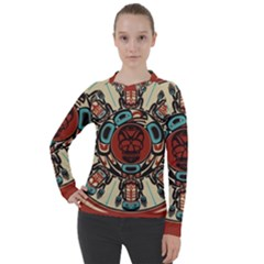 Grateful Dead Pacific Northwest Cover Women s Pique Long Sleeve Tee