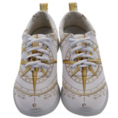 Points Of The Compass Navigation Compass Map Mens Athletic Shoes