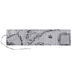Florida Map Antique Line Art Roll Up Canvas Pencil Holder (l)