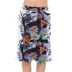 Halloween Short Mermaid Skirt