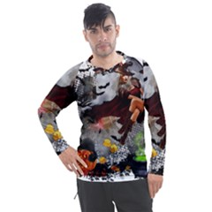Halloween Men s Pique Long Sleeve Tee