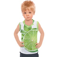 Lemon Clipart Kids  Sport Tank Top