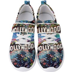 Hollywood Art Starry Night Van Gogh Men s Velcro Strap Shoes by Bejoart