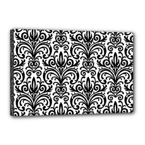 Overlay Transparent Pattern Canvas 18  X 12  (stretched)