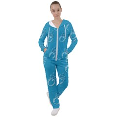 Bubble Group Pattern Abstract Women s Tracksuit