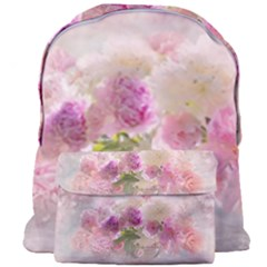 Nature Landscape Flowers Peonie Giant Full Print Backpack