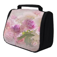 Nature Landscape Flowers Peonie Full Print Travel Pouch (small)