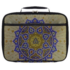 Image Star Pattern Mosque Tashkent Full Print Lunch Bag