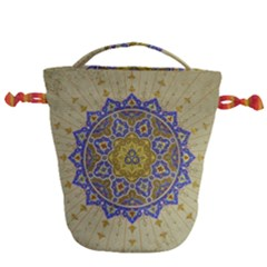 Image Star Pattern Mosque Tashkent Drawstring Bucket Bag
