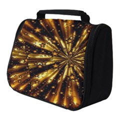 Christmas Star Wallpaper Explosion Full Print Travel Pouch (small)