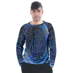 Matrix Technology Data Digital Men s Long Sleeve Raglan Tee