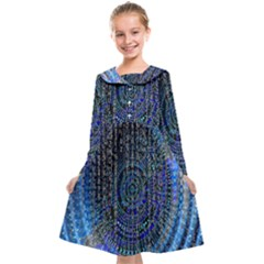 Matrix Technology Data Digital Kids  Midi Sailor Dress