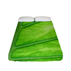 Green Bright Digital Manipulation Fitted Sheet (full/ Double Size)