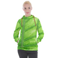 Green Bright Digital Manipulation Women s Hooded Pullover