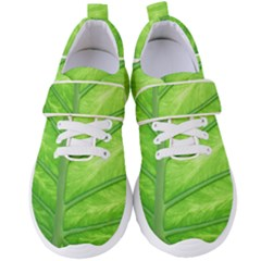 Green Bright Digital Manipulation Women s Velcro Strap Shoes