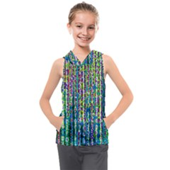 Matrix Technology Data Digital Kids  Sleeveless Hoodie