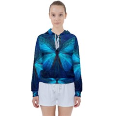 Animal Butterfly Insect Women s Tie Up Sweat