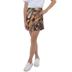 Texture Background Art Structure Kids  Tennis Skirt