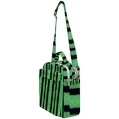 Tarija 016 Black Light Green Crossbody Day Bag by Mobg