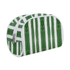 Tarija 016 White Green Makeup Case (small) by Mobg