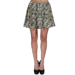 Urban Art Textured Print Pattern Skater Skirt by dflcprintsclothing