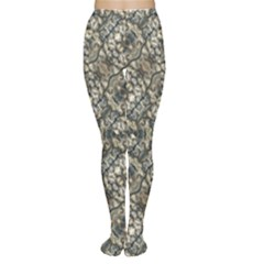 Urban Art Textured Print Pattern Tights by dflcprintsclothing
