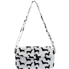 Dachshunds! Removable Strap Clutch Bag