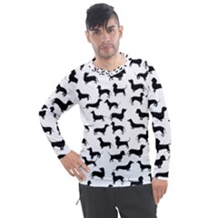 Dachshunds! Men s Pique Long Sleeve Tee