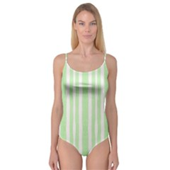 Tarija 016 White Light Green Camisole Leotard