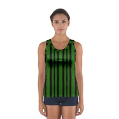 Tarija 016 Black Green Sport Tank Top