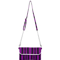 Tarija 016 Purple Black Mini Crossbody Handbag