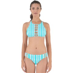Tarija 016 White Turqoise Perfectly Cut Out Bikini Set