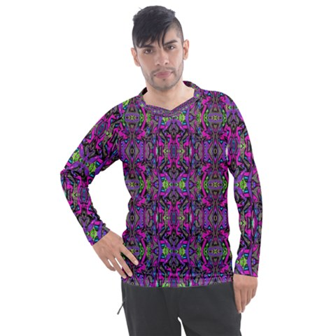 Abstract-s-3 Men s Pique Long Sleeve Tee by ArtworkByPatrick