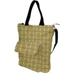 Timeless - Black & Mellow Yellow Shoulder Tote Bag