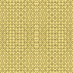 Timeless - Black & Mellow Yellow Fabric by FashionLane