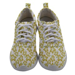Cute Flowers - Ceylon Yellow Women Athletic Shoes by FashionLane