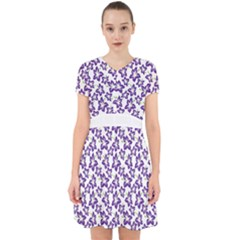 Cute Flowers   Imperial Purple Adorable In Chiffon Dress