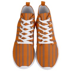 Tarija 016 Orange Brown  Men s Lightweight High Top Sneakers