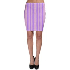 Tarija 016 Pink Purple Bodycon Skirt